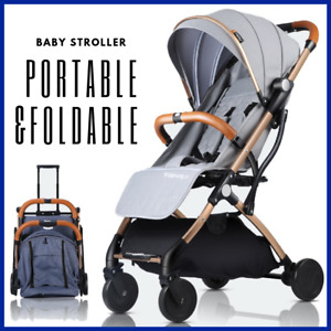 Travel Pushchair stroller airplane buggy foldable travel stroller with storage