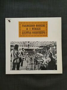 Lp Francesco Guccini e i Nomadi - Album Concerto - Vg++