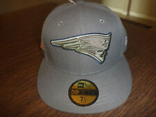 NEW ENGLAND PATRIOTS NEW ERA 59FIFTY 2017 SALUTE TO SERVICE ON FIELD FITTED HAT