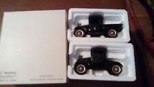 1:32 Die-Cast Ford 1925 Model T Pick Up & Coupe Set w Boxes