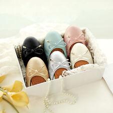 New Damen flache Schuhe Runde Ballerinas Lässig/Büro Schuhe Weiche EUR34-43