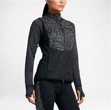 NIKE Womens AeroLoft Flash Vest Black Running Reflective Goose Down Sz XS