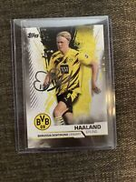 Topps 2020 BVB Team Set ERLING HAALAND Oversized Printed Auto Autograph