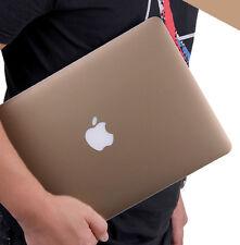 "Metallic Gold Top/ Bottom Guard Cover Skin For Macbook AIR 11"" 13''& PRO 13"" 15"""