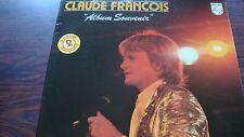 """Double disque Vinyle Claude François """"Album souvenir"""" 33T"""