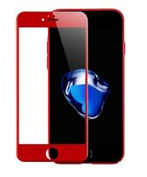 Rot 3D FULL COVER iPhone 6 iPhone 6S Panzerglas Panzerfolie Red 9H Rot TITAN