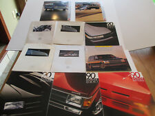 Lot of 11 1990 Chrysler-Dodge-Plymouth Sales Brochures