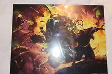 Warhammer Fantasy Age of Sigmar Skaven Doomwheel A3 Art Print New Warhammer Fest