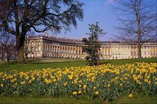 625048 The Royal Crescent Bath Avon A4 Photo Print