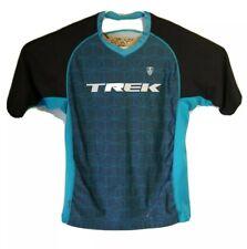 Trek Bontrager Cycling Running Jersey Shirt, Unisex, Blue Black
