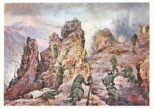 409) WW2 GRECIA, GRANATIERI, BATTAGLIA DI MONTE GOLICO. FORMATO GRANDE.