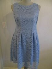 7219ff499c05 NWD GABBY SKYE 6P SOFT BLUE LACE LINED SLEEVELESS DRESS W/EXPOSED BACK  ZIPPER
