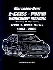 Workshop Manual Mercedes E Class W124 Petrol 1993-2000 New Service Repair