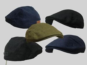 G&H 6 PENCE summer hat farmer flat cap classic English grandad flat cap linen