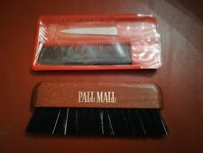 Vintage Advertising Promotional Pall Mall Cigarettes Brush, Comb and Nail File