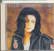 MICHAEL JACKSON RARE Who Is It 1993 US 5 track CD Single