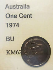 1974 Australia 1c One Cent UNCIRCULATED FROM MINT SET
