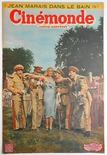 ►CINE MONDE 841/1950-DORA DOLL-LES FRÈRES JACQUES-ERROL FLYNN-COCTEAU-TCHERINA..
