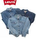 vintage Levi's veste en jeans camionneur JEAN FEMMES 8 10 12 14 16 18