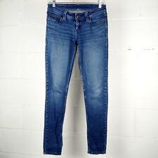 Levis Skinny Jeans Women Junior Sz 3 Blue Stretch