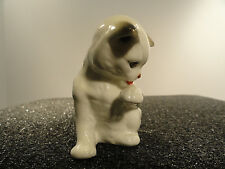 "Danbury Mint Cats of Character ""Wash Time"" Kitten / Cat Figurine"