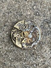 Valjoux 22 Movement Chronograph Not Working For Parts Repair Vintage