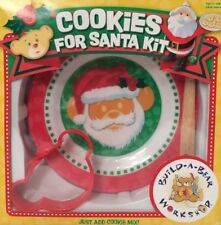 New Build-A-Bear Workshop Cookies For Santa Kit Child's Christmas Cooking Set