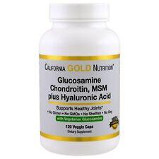 Glucosamine, Chondroitin, MSM Plus Hyaluronic Acid, 120 Veg Capsules