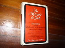Marquis de Sade: The Complete Justine, Philosophy in the Bedroom Grove Press HC