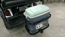 Golf cart Yamaha Ez-go Club car rear hitch cooler carrier with Igloo cooler