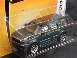 2008 Matchbox VIP Rides #40 Lincoln Navigator Metallic Dark Green  SUV MOC! F12