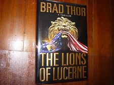 The Lions of Lucerne Brad Thor 1st