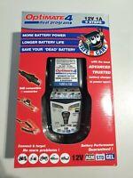 Optimate 4 Dual 1A Batterie Chargeur 12V Chargeur de Batterie, Tecmate TM-340