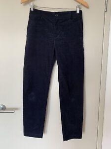Muji Corduroy Navy Pants Sz S As New