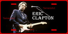 ERIC CLAPTON ART LICENSE PLATE