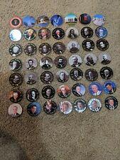 Pogs Slammers Milk Caps Presidents of the USA Political 49 total Lincoln JFK +