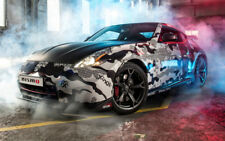 """NISSAN 370Z NISMO FRONT A2 CANVAS PRINT POSTER 23.4""""x15.4"""""""