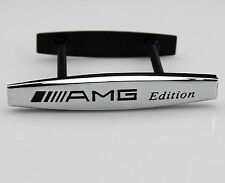 3D Auto Zinc Alloy Grille Badge Logo for  AMG A B C E S G R GLK SLK Series Hot