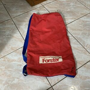 Vintage Forster  Croquet  Red Carry Bag Needs Cleaning