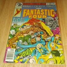 Marvel'S Greatest Comics # 81 G/Vg Signed By Jack Kirby 1978 Marvel Bronze Age
