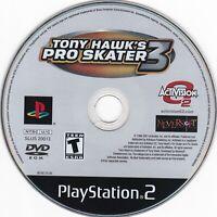 Tony Hawk's Pro Skater 3 (Sony PlayStation 2, 2002) **DISC ONLY**