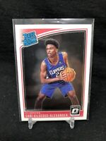 2018-19 Donruss Optic Shai Gilgeous-Alexander Rated Rookie RC #162 N09