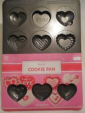 Heart Cookie Pan Sweet Creations 12 Cavity NEW Bradshaw Good Cook