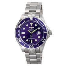 Invicta 3045 Men's Grand Diver Automatic Blue Dial Steel Watch