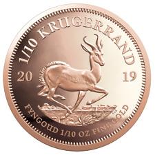Südafrika 2019 Krügerrand 1/10 Oz Gold PP im Etui