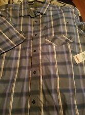 SEAN JOHN mens  Button Down Shirt size 3X NWT  insignia blue