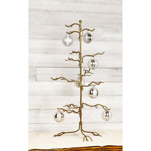 Ornament Tree Christmas Décor Jewelry & Accessory Display in Bronze Finish, 27""