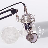 Universal 50mm Microphone Shock Mount for 48mm-54mm Diameter Condenser Mic Good
