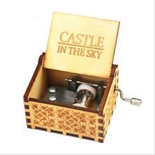 The Famous Song Wooden Music Box Castle In The Sky Hand Crank Music Box Gifts