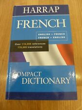 Harrap French Compact Dictionary by Chambers (Hardback, 2002)